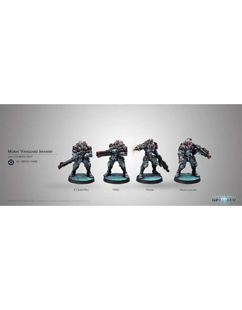 Corvus Belli Combined Army Morat Vanguard Infantry Box Set