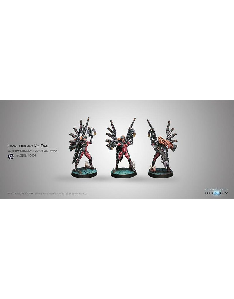 Corvus Belli Combined Army Special Operative Ko Dali Blister Pack