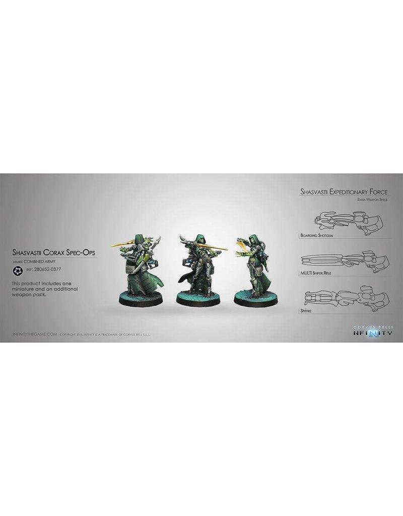 Corvus Belli Combined Army Shasvastii Corax Spec-Ops Box Set
