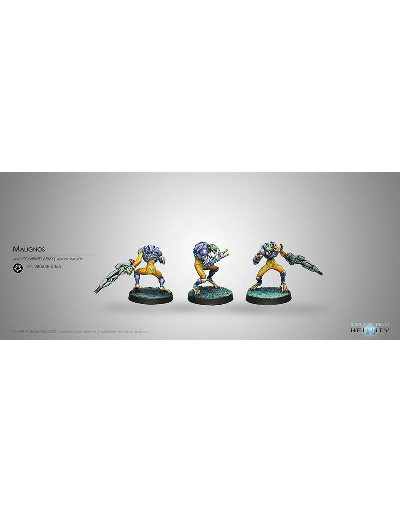 Corvus Belli Combined Army Malignos (Hacker) Blister Pack