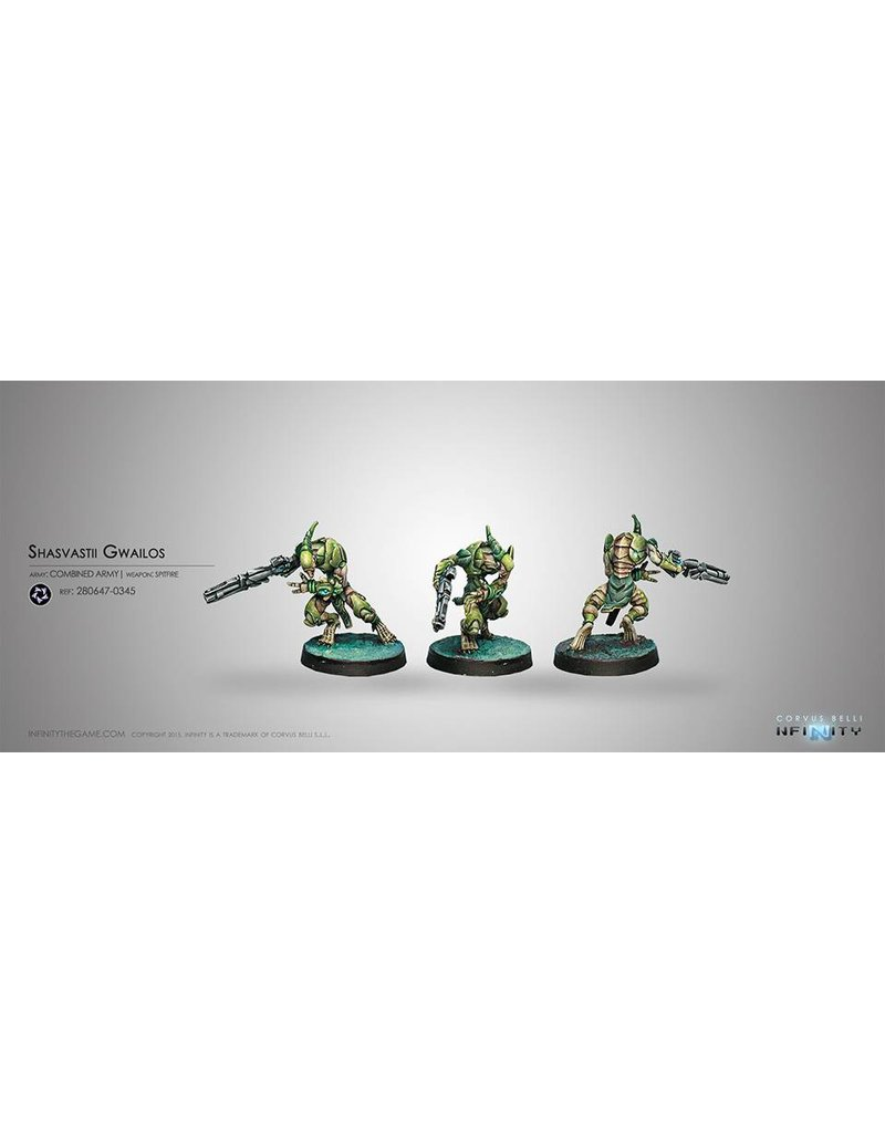 Corvus Belli Combined Army Gwailos (Spitfire) Blister Pack