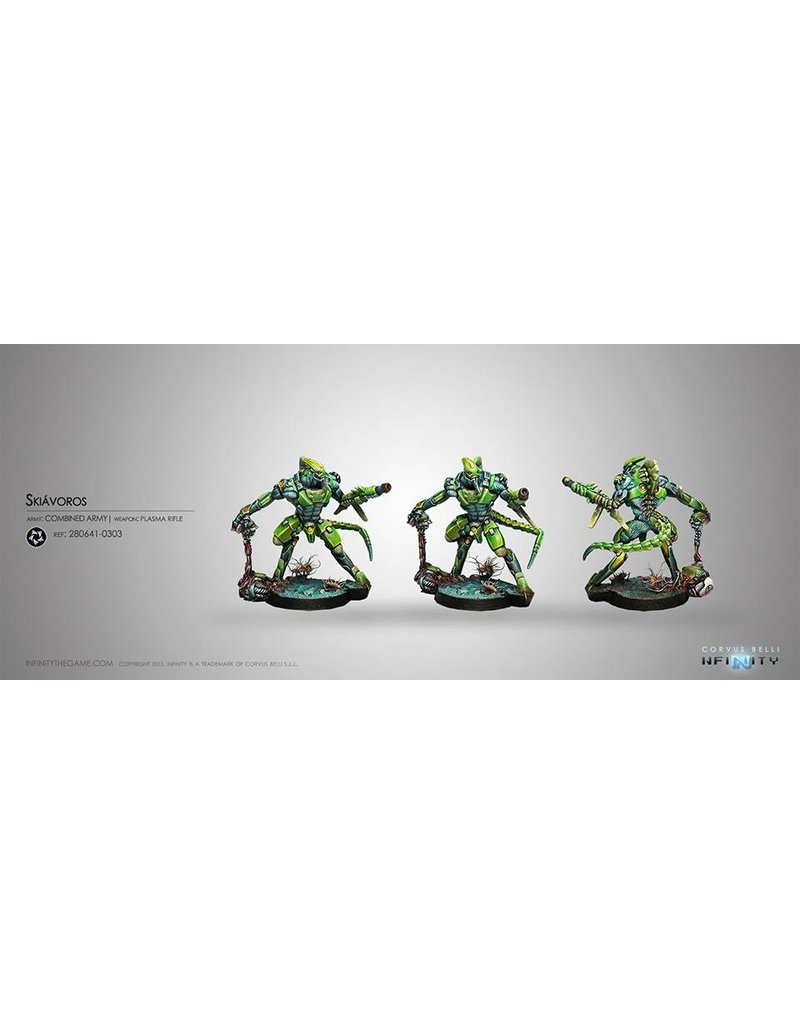 Corvus Belli Combined Army Skiavoros (Plasma Rifle) Blister Pack