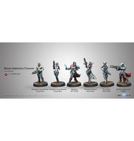 Corvus Belli Bakunin Jurisdictional Command (Nomads Sectorial Starter Pack)