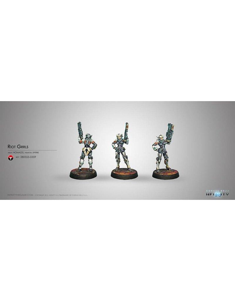 Corvus Belli Nomads Riot Grrls (Spitfire) Blister Pack