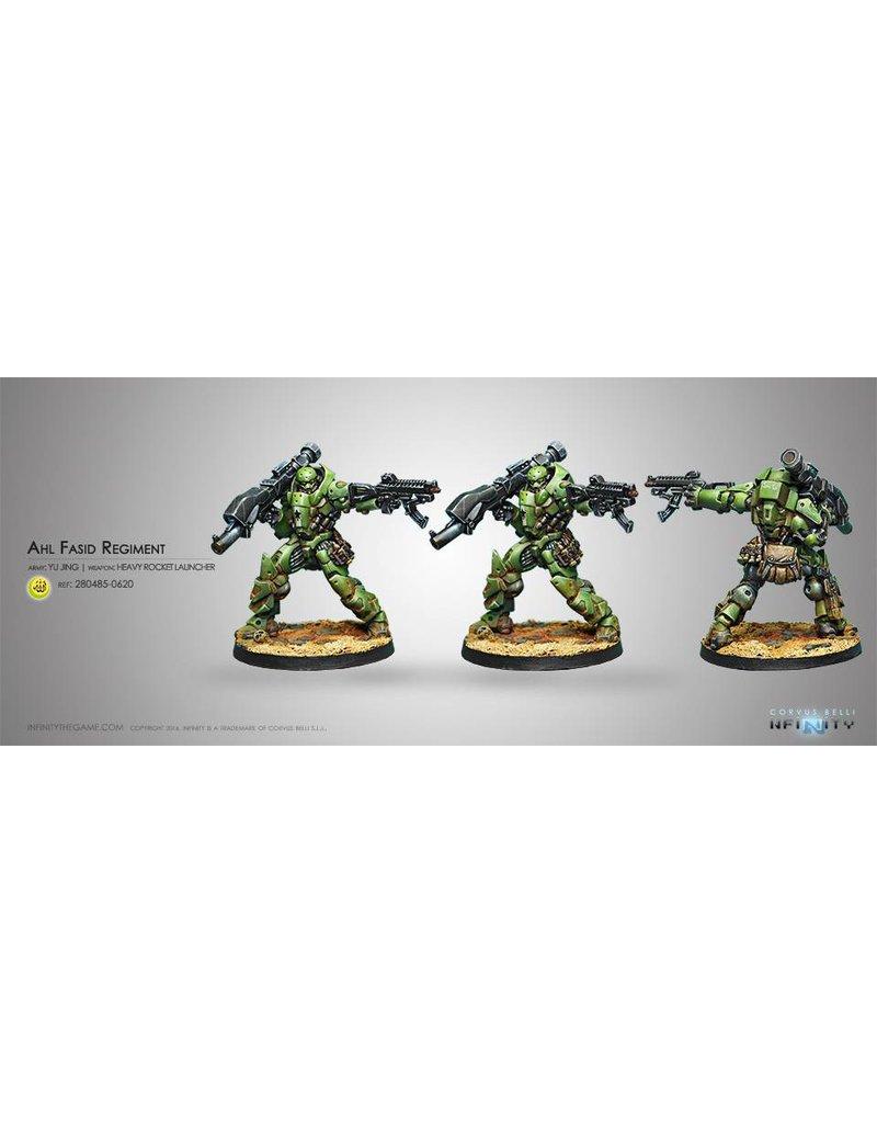 Corvus Belli Haqqislam Heavy Assault Regiment Al Fasid (Heavy RL) Blister Pack