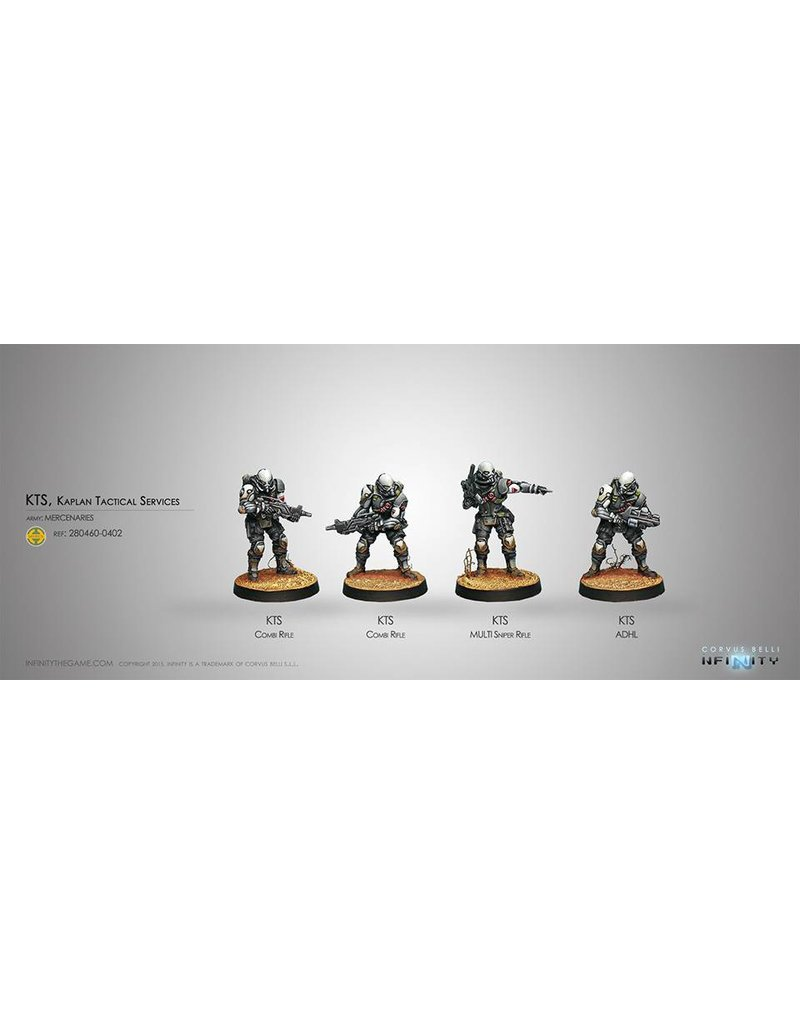 Corvus Belli Mercenaries KTS, Kaplan Tactical Services Box Set