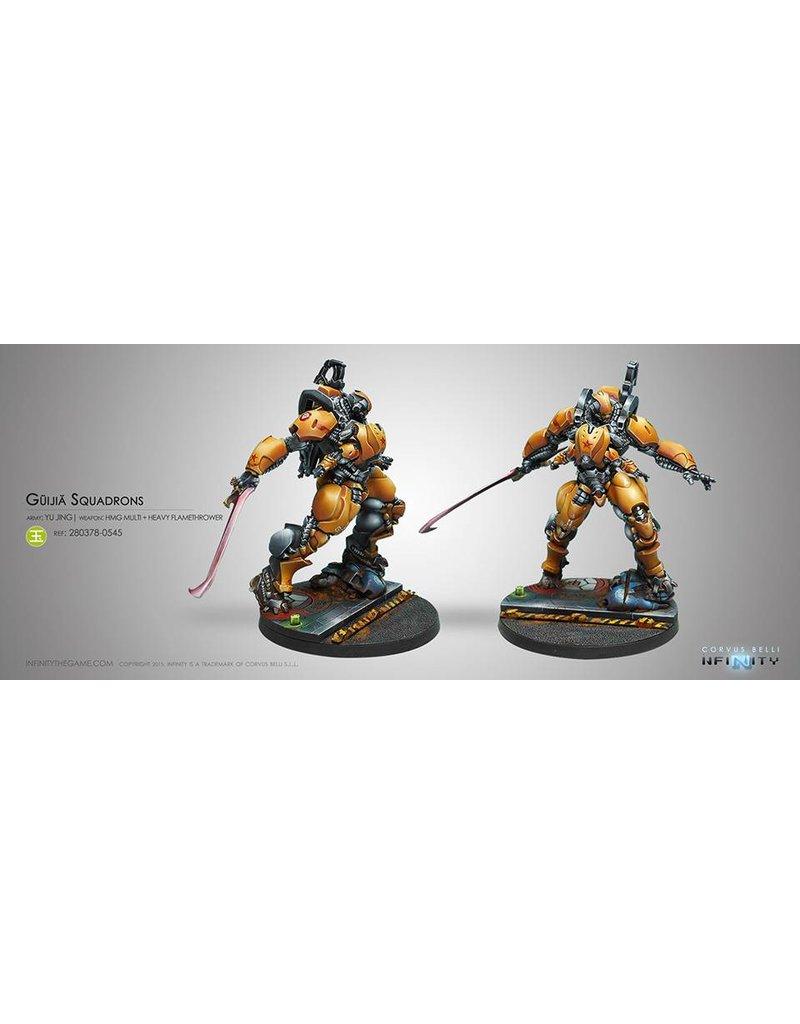 Corvus Belli Yu Jing Guijia Squadrons Box Set