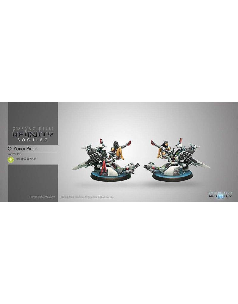 Corvus Belli Yu Jing O-Yoroi Pilot Blister Pack
