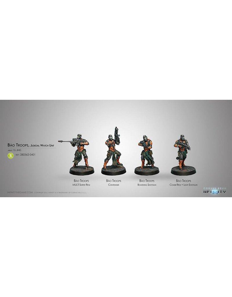 Corvus Belli Yu Jing Bao Troops, Judicial Watch Unit Box Set