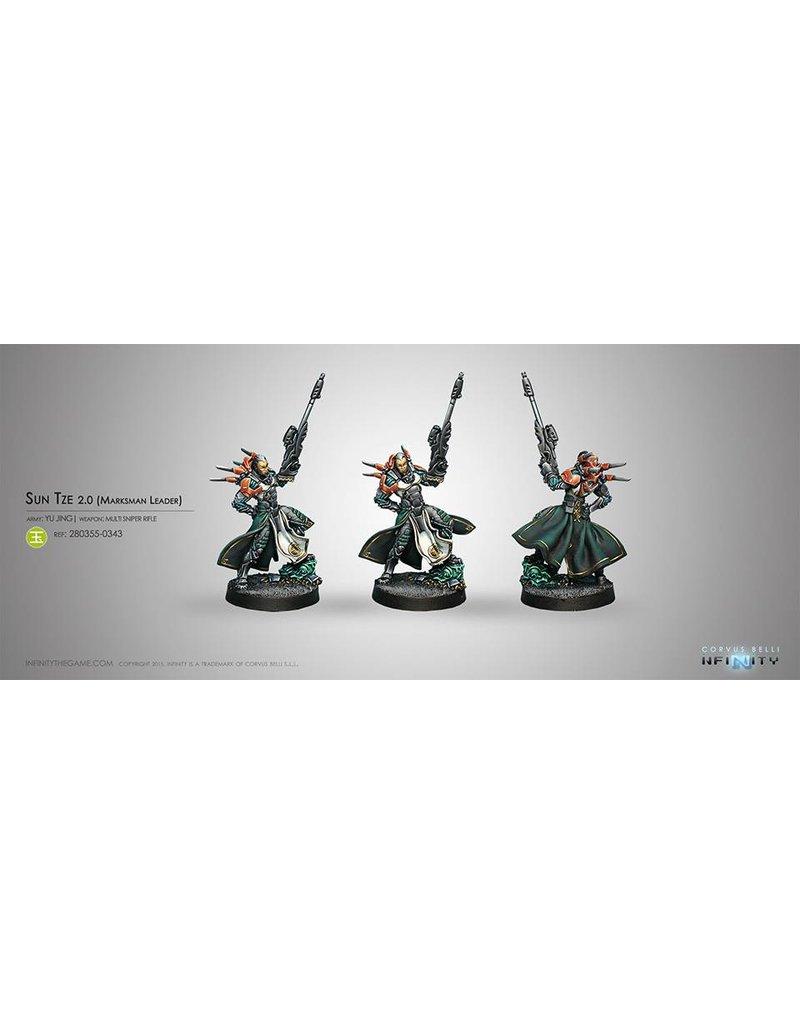 Corvus Belli Yu Jing Sun Tze v2 (Marksman Leader) Blister Pack