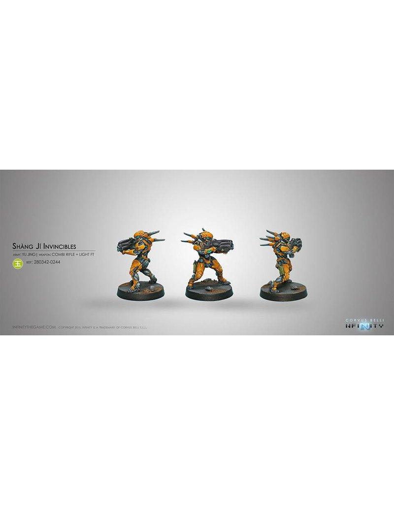 Corvus Belli Yu Jing Shang Ji Invincible (Combi Rifle) Blister Pack