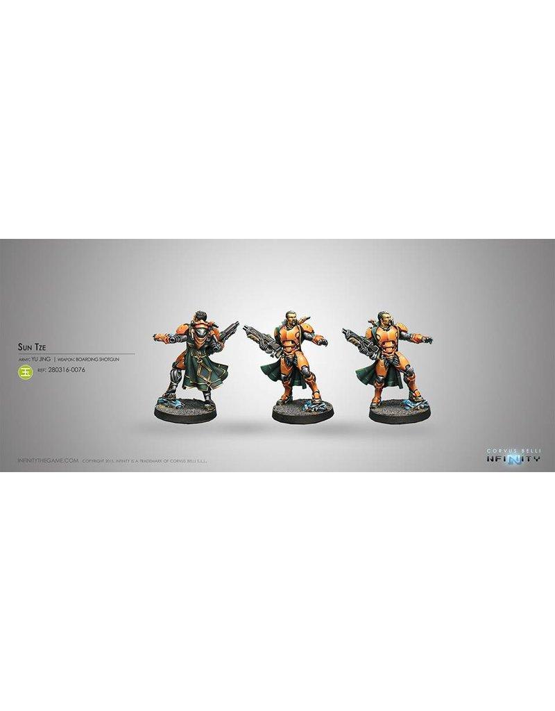 Corvus Belli Yu Jing Sun Tze (Boarding Shotgun) Blister Pack