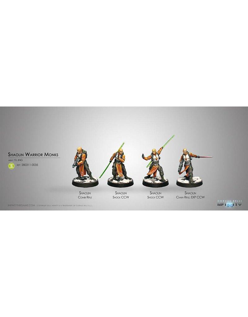 Corvus Belli Yu Jing Shaolin Warrior Monks Box Set
