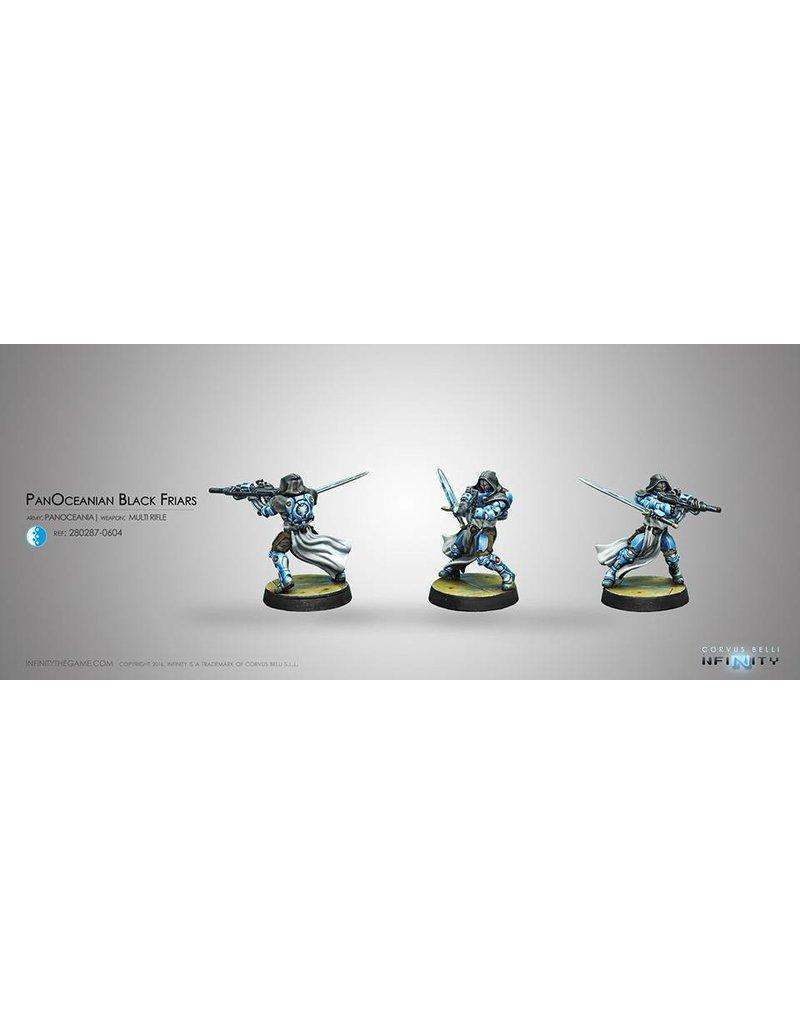 Corvus Belli Panoceania PanOceanian Black Friars (MULTI Rifle)   Blister Pack