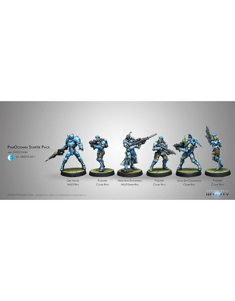 Corvus Belli Panoceania Starter Pack Box Set