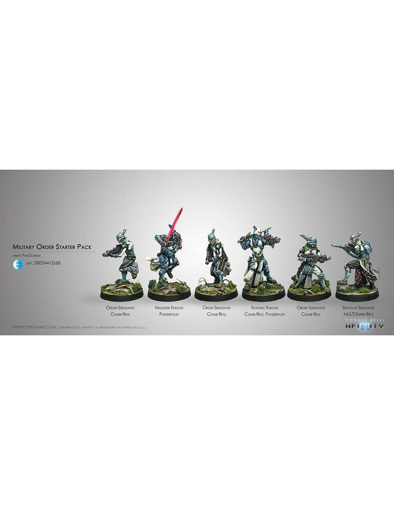 Corvus Belli Panoceania Military Order (Sectorial Starter Pack) Box Set