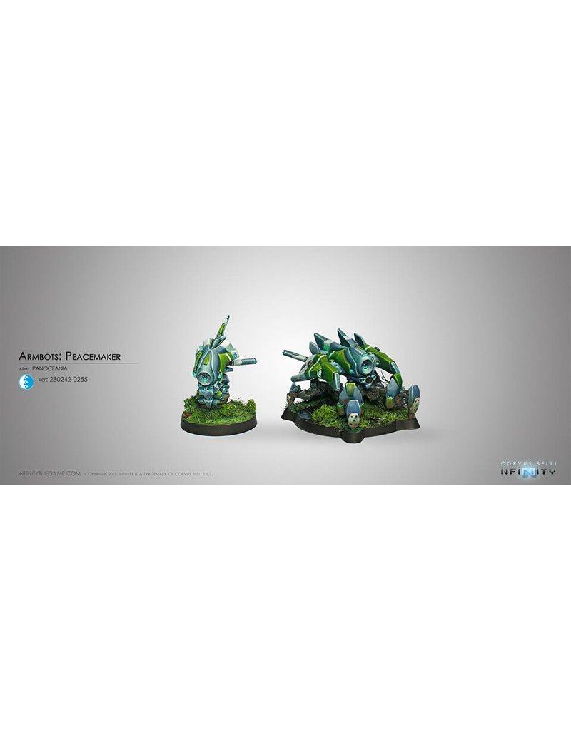 Corvus Belli Panoceania Armbots: Peacemaker and Auxbot Box Set