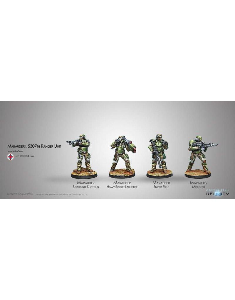Corvus Belli Ariadna Marauders, 5307th Ranger Unit    Box Set