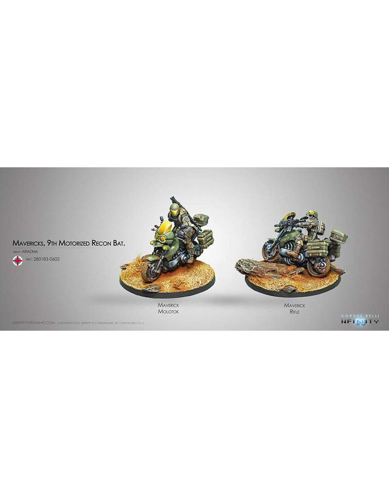 Corvus Belli Ariadna Mavericks, 9th Motorized Recon Bat. Box Set