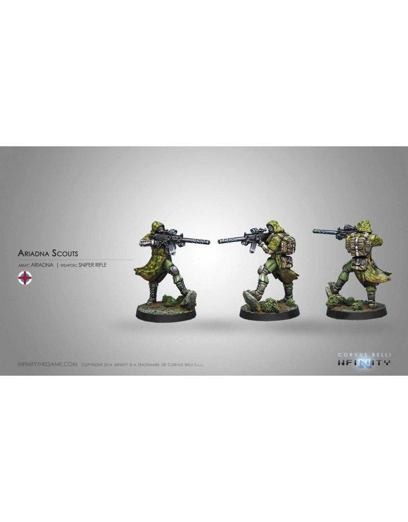 Corvus Belli Ariadna Ariadna Scouts (AP Sniper) Blister Pack