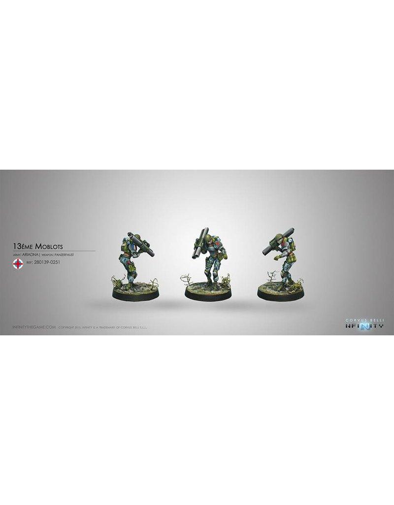 Corvus Belli Ariadna Moblots (Rifle, Panzerfaust) Blister Pack