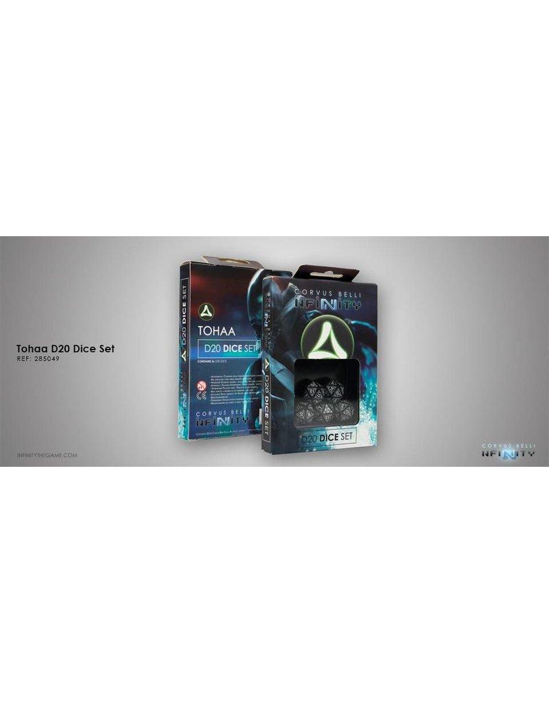 Corvus Belli Tohaa D20 Dice Set