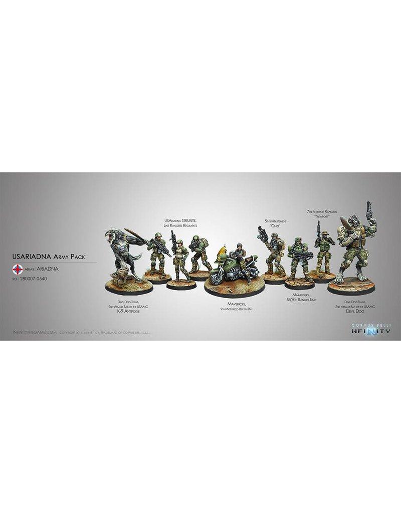 Corvus Belli US Ariadna Sectorial Army Pack