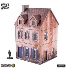 Plastcraft Two-storey Building (Pre-Painted Playable Brick Building)