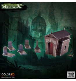 Plastcraft Graveyard Set - ColorED