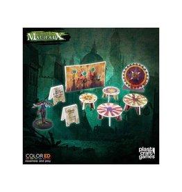 Plastcraft Dark-Carnival Circus Prop Set (pre-painted)