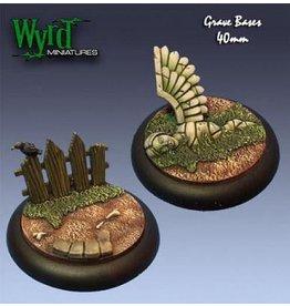 Wyrd Graveyard Bases Ð 40mm