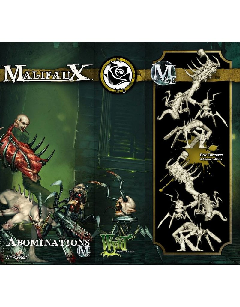 Wyrd Outcasts Abominations Box Set 2nd Edition