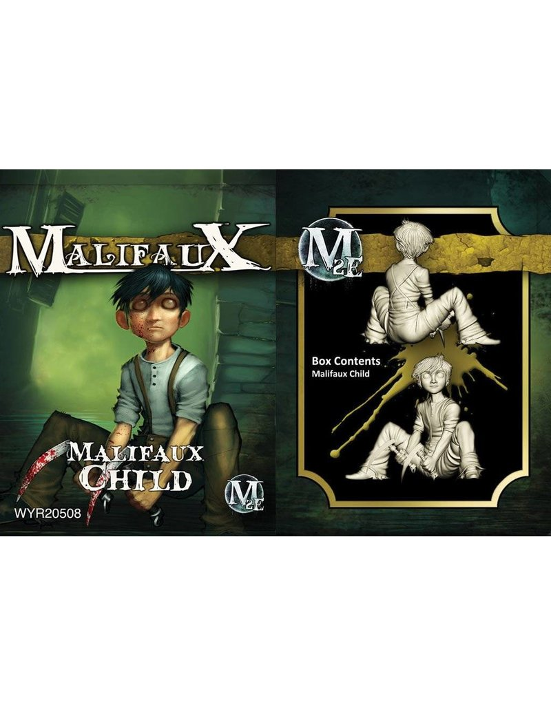 Wyrd Outcasts Malifaux Child Box Set 2nd Edition