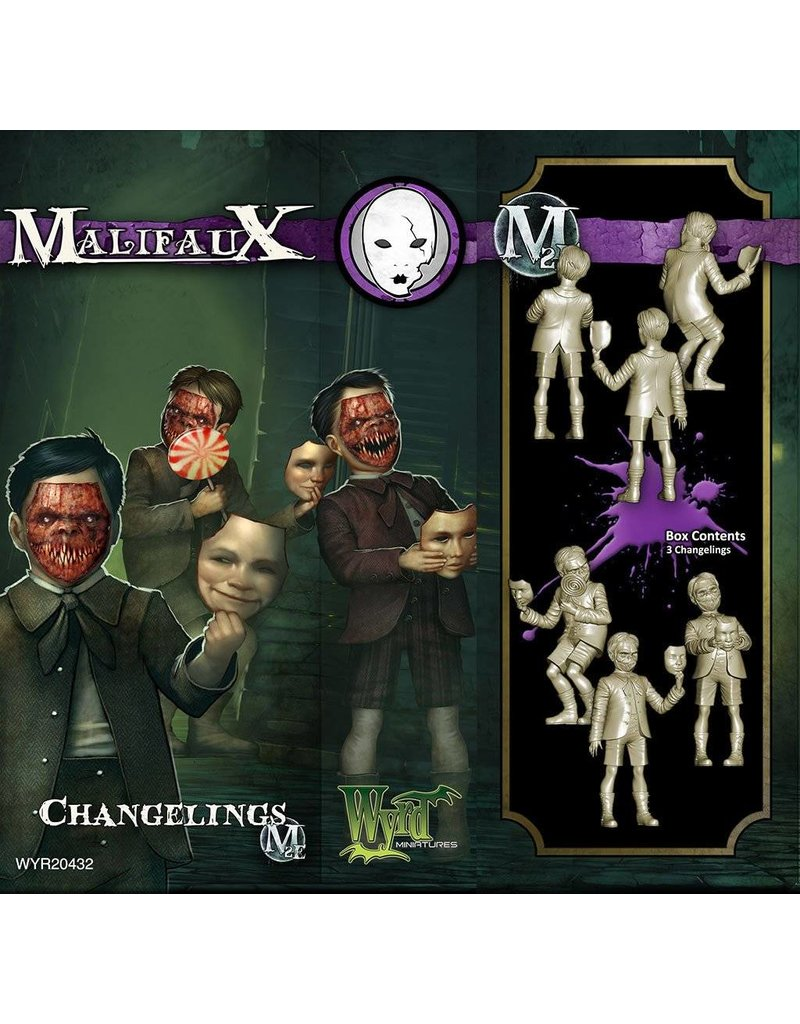 Wyrd Neverborn Changelings  Box Set 2nd Edition