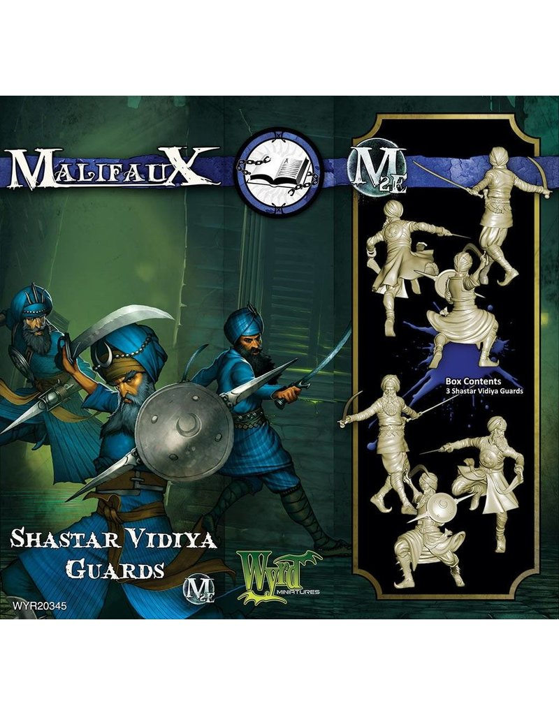 Wyrd Arcanists Shastar Vidiya Guards Box Set 2nd Edition