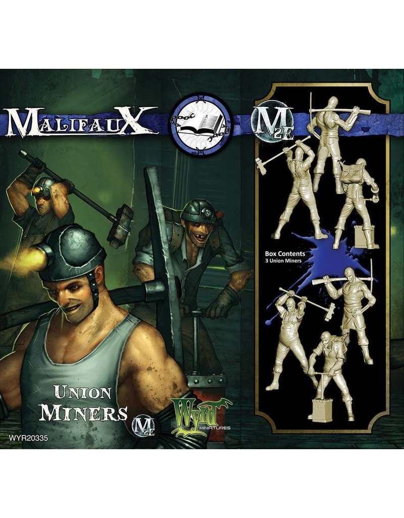 Wyrd Arcanists Union Miners Box Set 2nd Edition