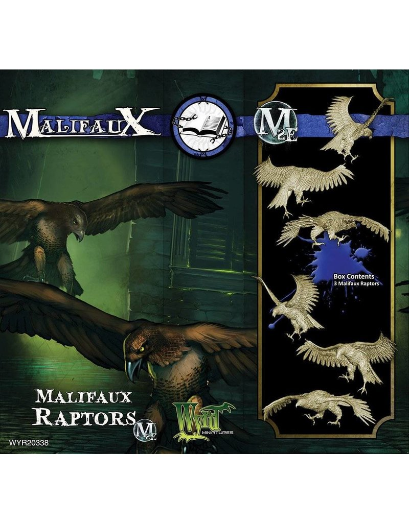 Wyrd Arcanists Malifaux Raptors Box Set 2nd Edition
