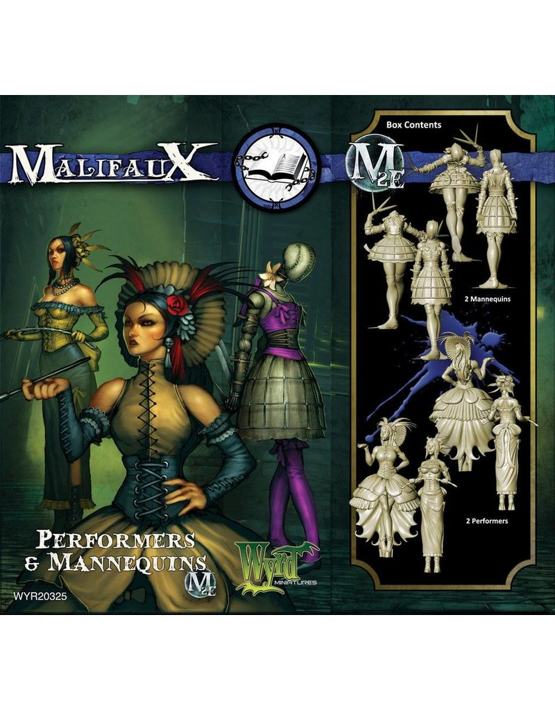 Wyrd Arcanists Mannequins/Performers Box Set 2nd Edition
