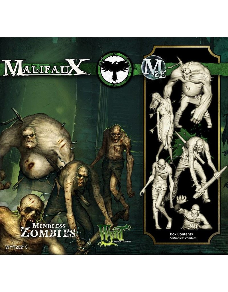 Wyrd Resurrectionists Mindless Zombies Box Set 2nd Edition