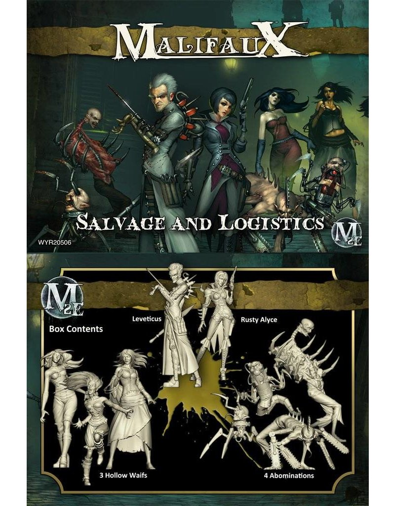 Wyrd Outcasts 'Salvage And Logistics' - Leveticus Box set