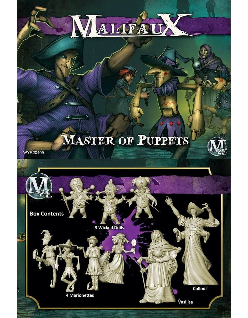 Wyrd Neverborn 'Master Of Puppets' - Collodi Box set 2nd Edition