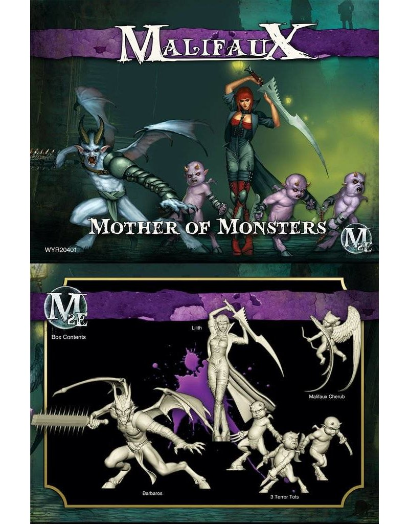 Wyrd Neverborn 'Mother of Monsters' - Lilith Box Set