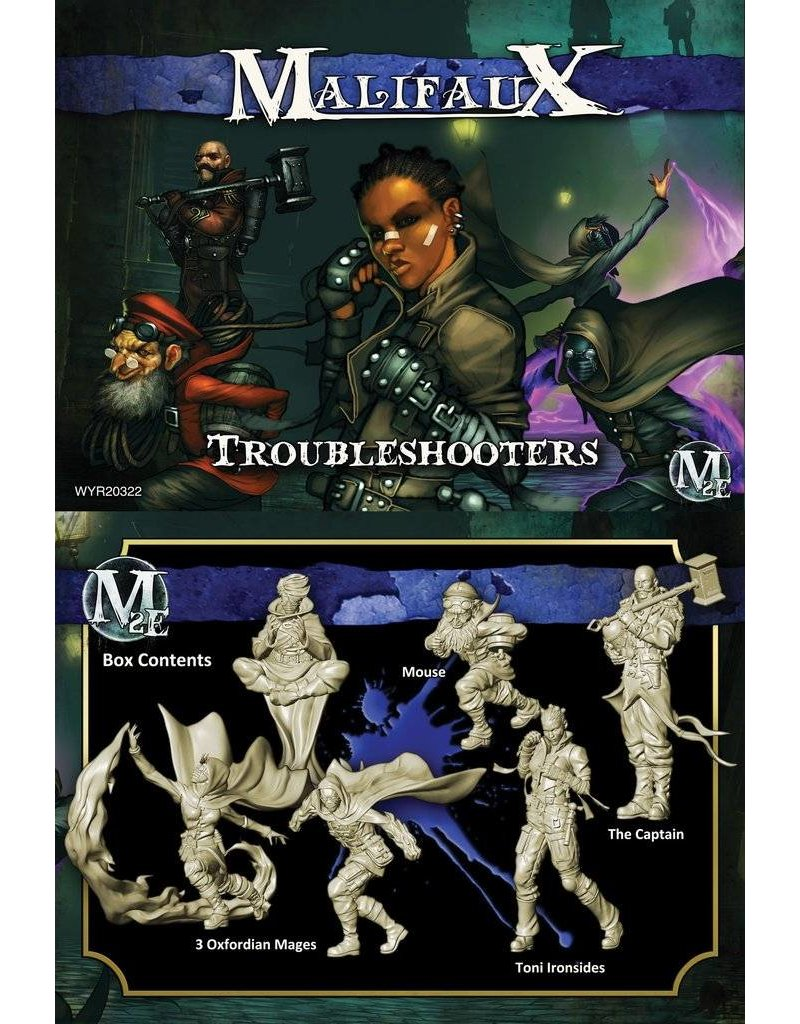 Wyrd Arcanists 'Troubleshooters' - Ironsides Box set