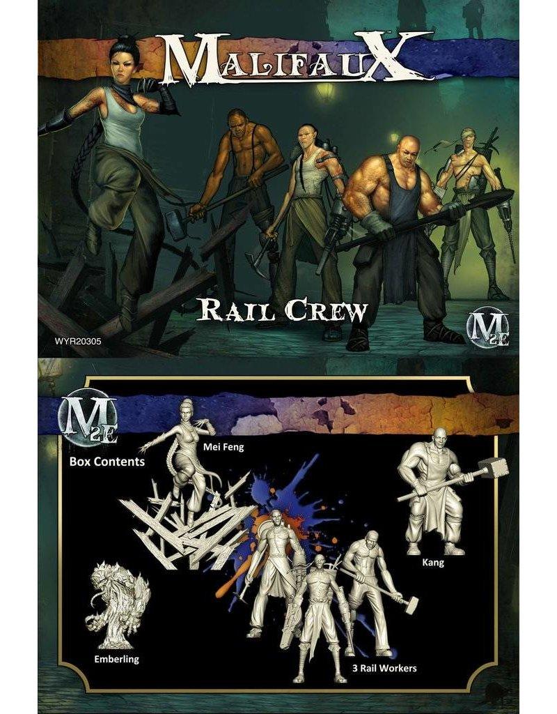 Wyrd Arcanists/Ten Thunders 'Rail Crew' - Mei Feng Box set 2nd Edition