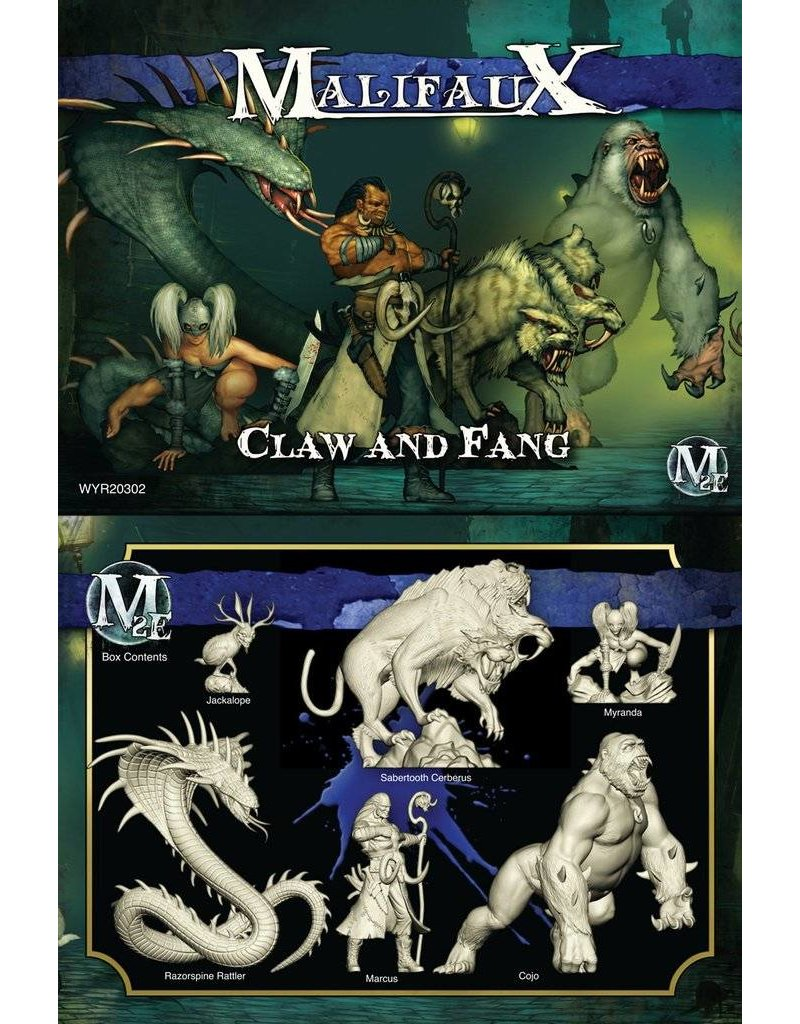 Wyrd Arcanists 'Claw And Fang' - Marcus Box set