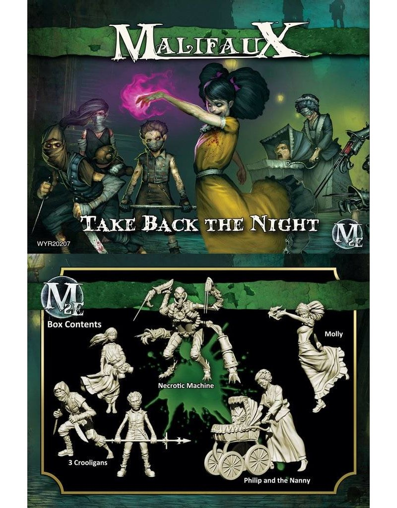 Wyrd Resurrectionists 'Take Back The Night' - Molly Box set