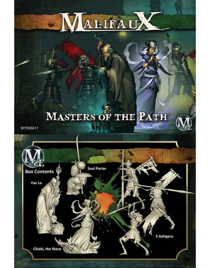Wyrd Resurrectionists/TenThunders 'Masters of the Path' - Yan Lo Box set 2nd Edition