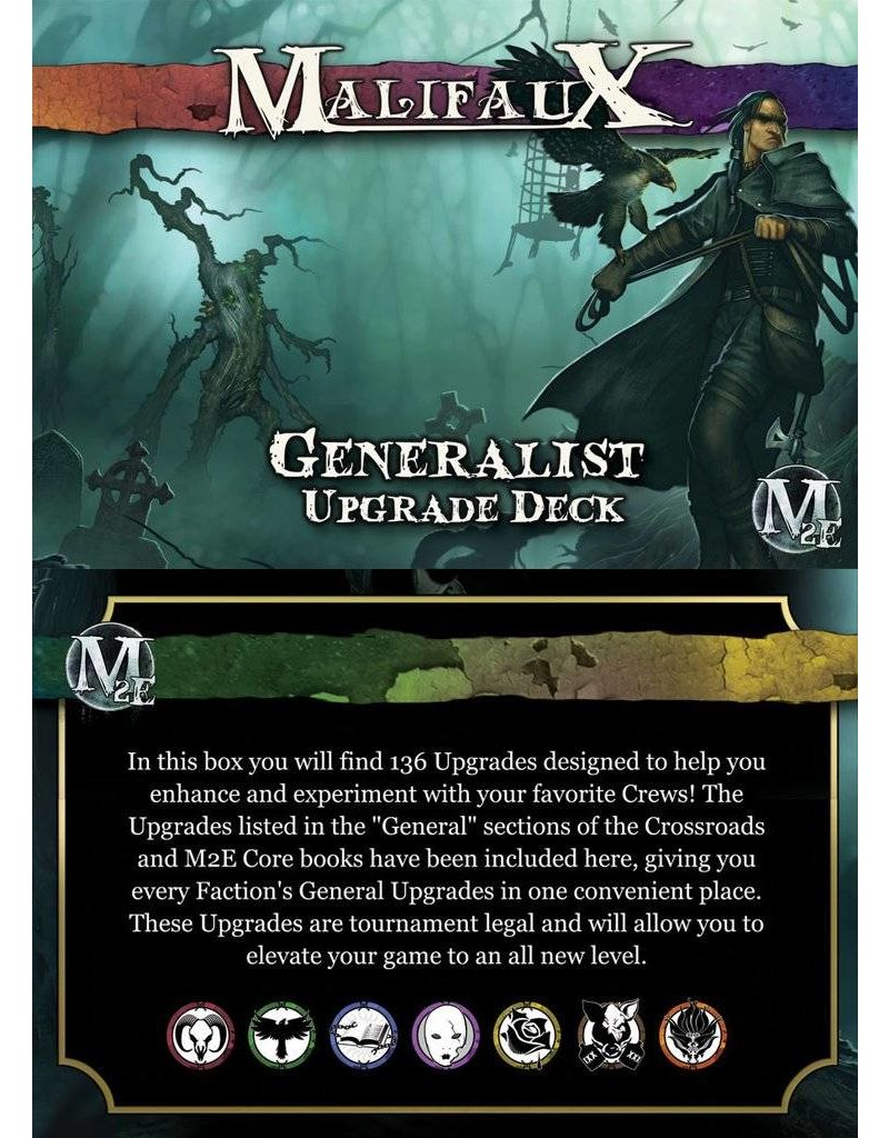 Wyrd Malifaux 2nd Edition: Generalist Upgrade Deck 1 2nd Edition