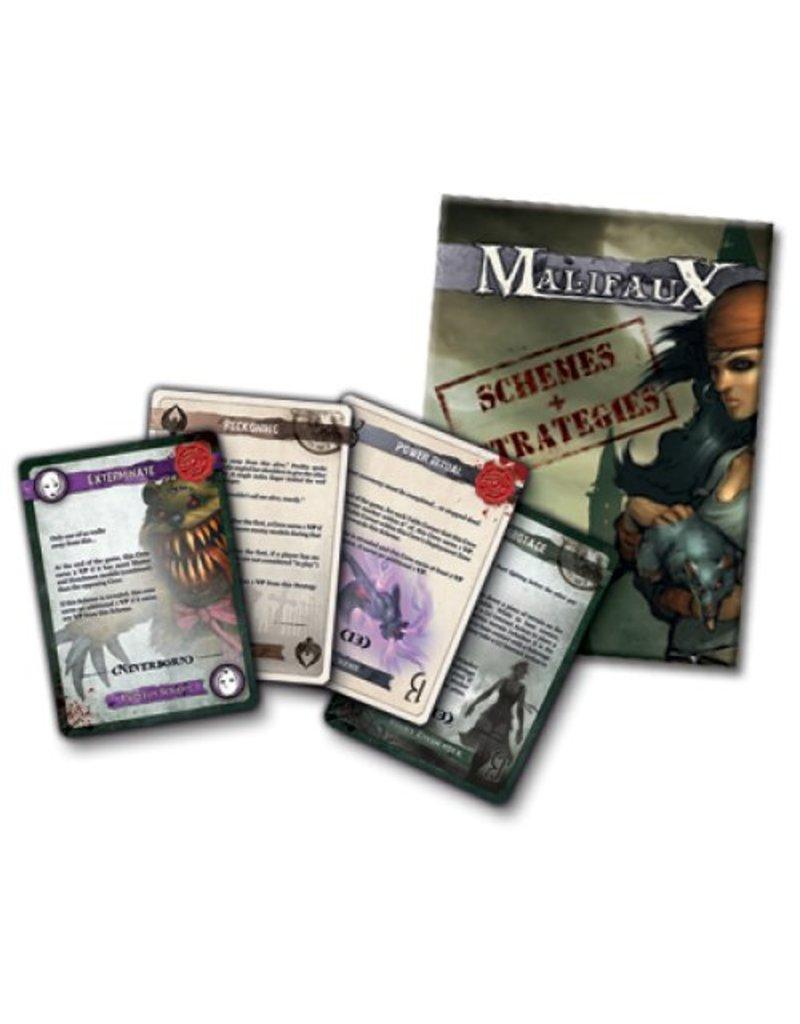 Wyrd Malifaux 2nd Edition Schemes and Strategies Deck 2nd Edition