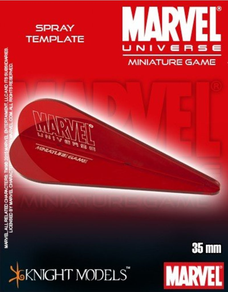 Knight MARVEL UNIVERSE SPRAY TEMPLATES